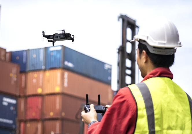 Drones aplicados a la prevención de riesgos en el sector de logística