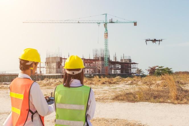 Drones aplicación en es sector de la construcción